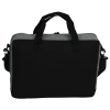 """View Extra Image 3 of 3 of Graphite 15"""" Computer Briefcase Bag - Embroidered"""