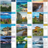View Extra Image 1 of 1 of World Scenes with Recipes Calendar