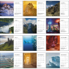View Extra Image 1 of 5 of National Geographic Photography Large Desk Calendar