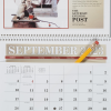 View Extra Image 2 of 2 of The Saturday Evening Post Norman Rockwell Pocket Calendar