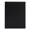 View Extra Image 1 of 1 of Black Glass Wall Plaque - 9 inches