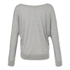 View Image 2 of 2 of Bella+Canvas Flowy LS Off Shoulder T-Shirt - Ladies'