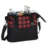 View Image 5 of 5 of Buffalo Plaid Cooler Bag