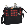 View Image 5 of 5 of Buffalo Plaid Cooler Bag - Embroidered