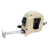 View Image 5 of 5 of Wood Grain 16' Tape Measure