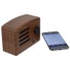 View Extra Image 2 of 4 of Vintage Wood Grain Bluetooth Speaker