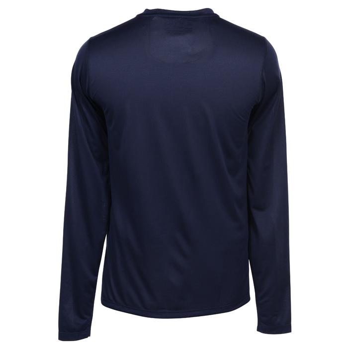 6b7f4e1d4a484 4imprint.ca: New Balance Athletic LS T-Shirt - Men's - Embroidered  C150330-M-LS-E