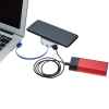 View Extra Image 7 of 8 of Power-Up Wireless Charging Pad with USB Hub
