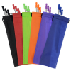 View Extra Image 1 of 2 of Stainless Steel Straw Set - 3-pack
