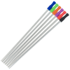 View Extra Image 1 of 1 of Stainless Straw Set in Cotton Pouch - 3 Pack