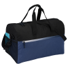 View Extra Image 3 of 3 of Ombre Zip Accent Duffel - Embroidered