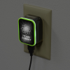 View Extra Image 5 of 7 of Shine Light-Up Logo USB Wall Charger