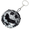 View Extra Image 1 of 3 of Reversible Sequins Keychain - Closeout