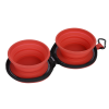 View Extra Image 3 of 4 of Dual Collapsible Pet Bowls with Case