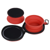 View Extra Image 4 of 4 of Dual Collapsible Pet Bowls with Case