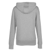 View Extra Image 2 of 2 of Fortuna Cotton Full-Zip Hoodie - Ladies'