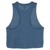 View Image 2 of 3 of Bella+Canvas Cropped Racerback Tank - Ladies'