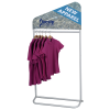View Extra Image 1 of 3 of EuroFit Evolution Incline Apparel Rack - 3'