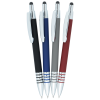 View Extra Image 2 of 2 of Bristol Gel Soft Touch Stylus Metal Pen