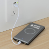 View Extra Image 1 of 3 of Light-Up Logo Qi Wireless Power Bank - 10,000 mAh