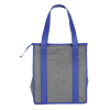 View Extra Image 1 of 3 of Heathered Insulated Grocery Tote