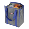 View Extra Image 2 of 3 of Heathered Insulated Grocery Tote