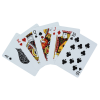 View Extra Image 1 of 1 of Elegant Print Playing Cards