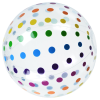 View Extra Image 1 of 1 of Polka Dot Beach Ball