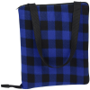 View Extra Image 2 of 5 of Buffalo Check Fold Up Picnic Blanket with Carrying Strap