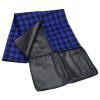 View Extra Image 3 of 5 of Buffalo Check Fold Up Picnic Blanket with Carrying Strap