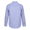 View Extra Image 1 of 2 of Untucked Striped Poplin Shirt - Men's