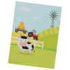 View Extra Image 1 of 2 of Kid's Reusable Sticker Activity Book - Farm