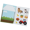 View Extra Image 2 of 2 of Kid's Reusable Sticker Activity Book - Farm