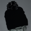View Extra Image 1 of 1 of All Weather Pom Beanie with Cuff