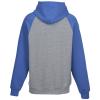 View Extra Image 1 of 2 of Everyday Fleece Two-Tone Hooded Sweatshirt - Screen