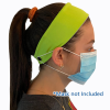 View Image 2 of 4 of Cooling Headband with Face Mask Buttons
