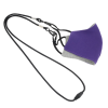 View Image 3 of 5 of Comfy 2-Ply Face Mask with Lanyard - Youth