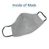 View Image 2 of 4 of Comfy 2-Ply Face Mask - Embroidered