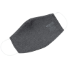 View Image 2 of 5 of Brushed Cotton Twill Face Mask - Full Color