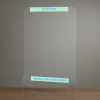 View Extra Image 1 of 1 of Acrylic Clear Counter Window - 36 - 3/4 inches x 23 - 5/8 inches