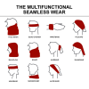 View Extra Image 1 of 5 of Full Colour Multifunctional Headwrap
