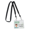 View Extra Image 1 of 2 of Knit Cotton Lanyard with Neck Clasp - 5/8 inches - 2 Swivel Hooks