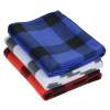 View Extra Image 1 of 1 of Buffalo Plaid Fleece Blanket