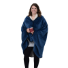 View Image 3 of 4 of Wearable Fleece Sherpa Blanket