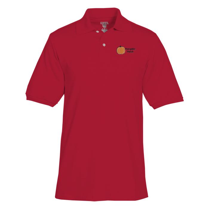 4imprint.ca  Jerzees Spotshield Jersey Knit Shirt - Men s C103509-M 375f3665c4eed