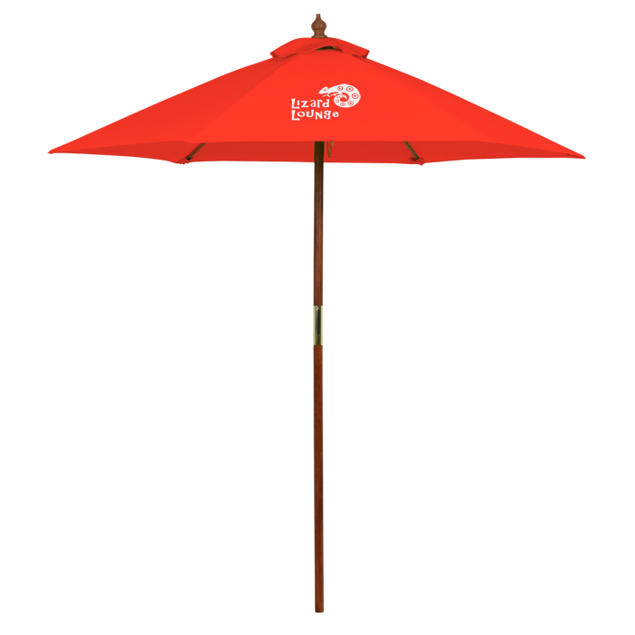 Umbrella Stand Ireland: 4imprint.ca: Wood Market Umbrella