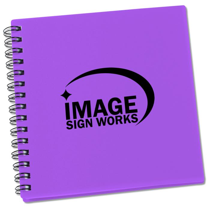 4imprint Ca Even Writer Square Notebook 24 Hr C131347