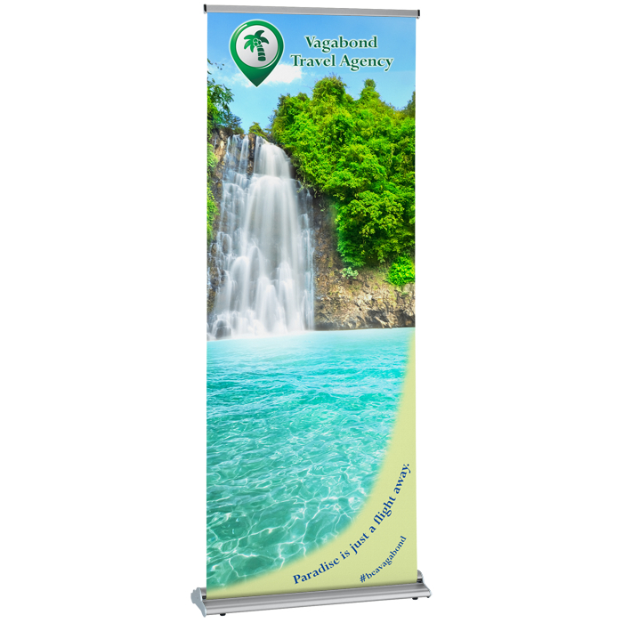 4imprint Ca Change Agent Retractable Banner 31 Quot C136961