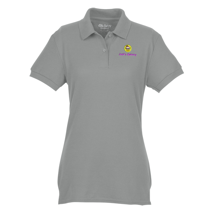 4Imprintca Gildan Dryblend Double Pique Polo - Ladies -2853