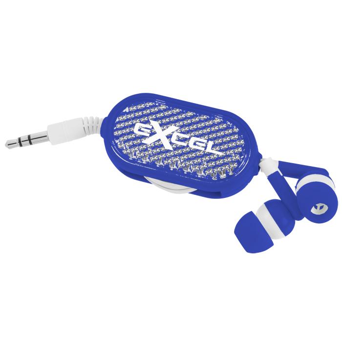 4imprint Ca Retractable Reflective Ear Buds C139959